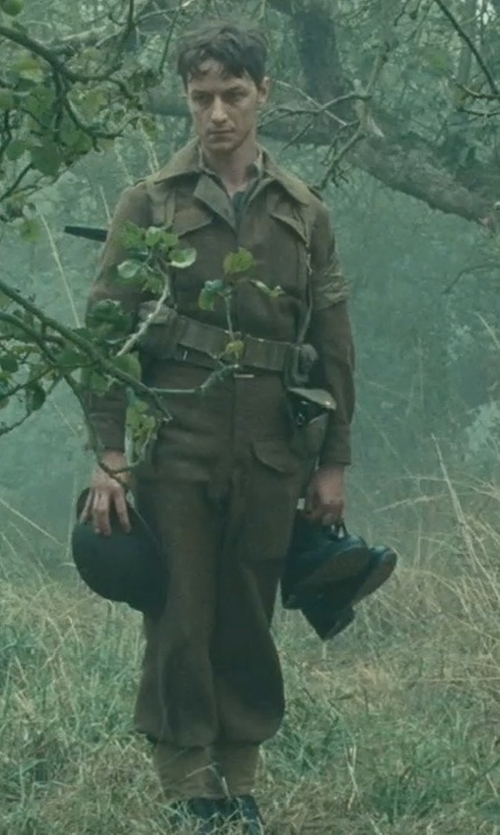 James McAvoy with Andrew Marc Charlie Hi Boots in Atonement