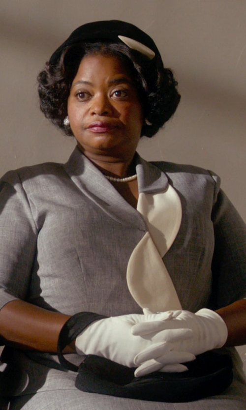 Octavia Spencer with Andrea's Beau Satin Gloves in Get On Up