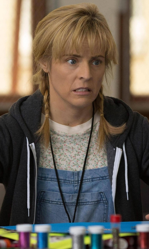 Maria Bamford with Alternative Adrian Zip Up Hoodie in Lady Dynamite