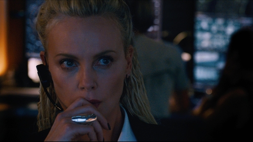 Charlize Theron with TOMTOM Jewelry Serra Ring in The Fate of the Furious