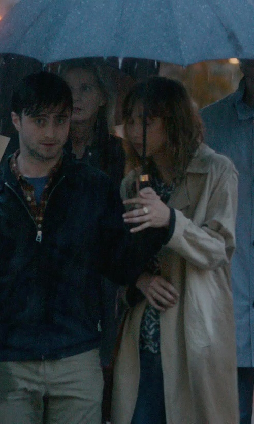Daniel Radcliffe with Hunter Sporting Umbrella in What If