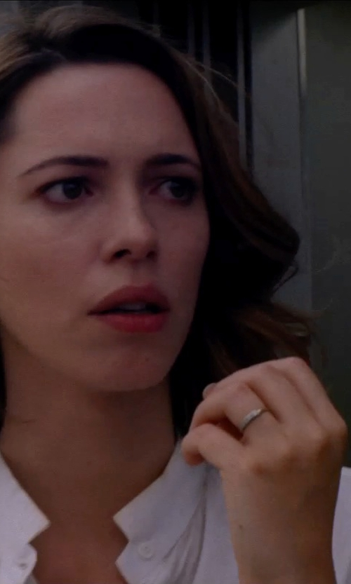 Rebecca Hall with PALOMA PICASSO Hammered Ring in Transcendence