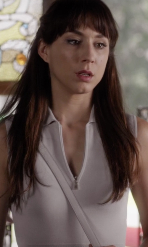 Troian Bellisario with Alexander Wang Small Lia Sling Bag in Pretty Little Liars