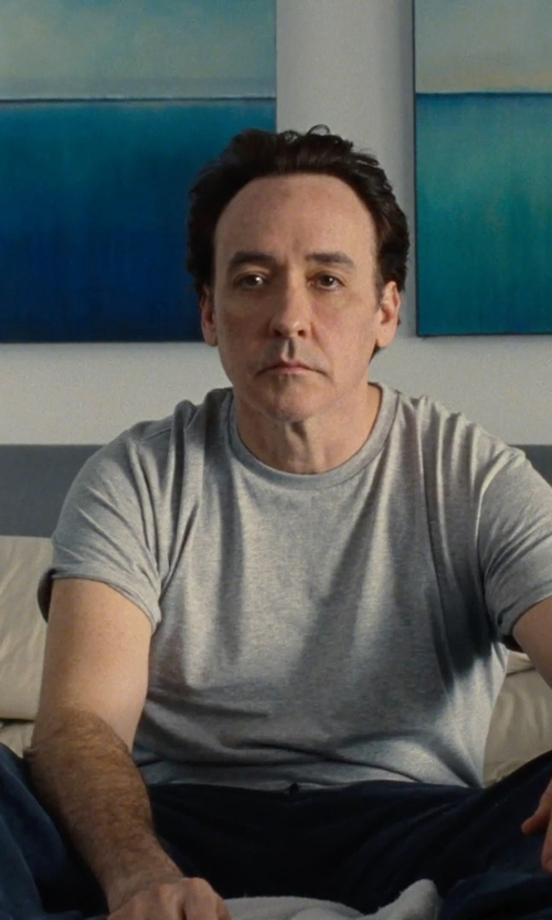 John Cusack with Richmond Denim Straight Leg Denim Pants in Love & Mercy