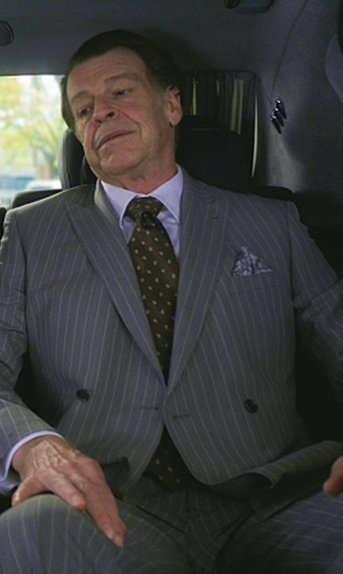 John Noble with Indumenti Double Breasted Two Piece Suit in Elementary