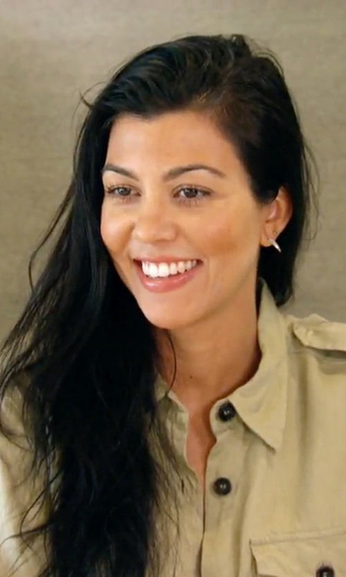 Kourtney Kardashian with NLST Officer's Shirt in Keeping Up With The Kardashians
