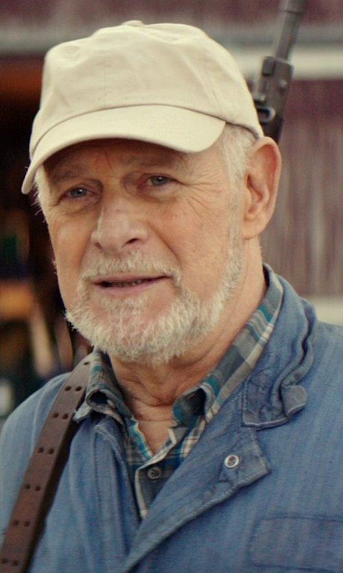 Gerald McRaney with Lucky Brand Regular Fit Plaid Western Shirt in The Best of Me