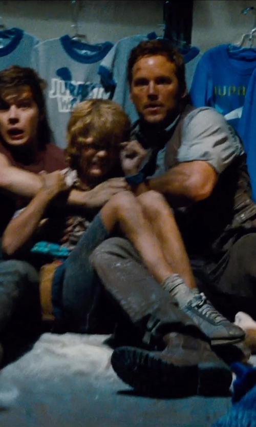 Ty Simpkins with Nike SB Kids SB Fokus Sneakers in Jurassic World