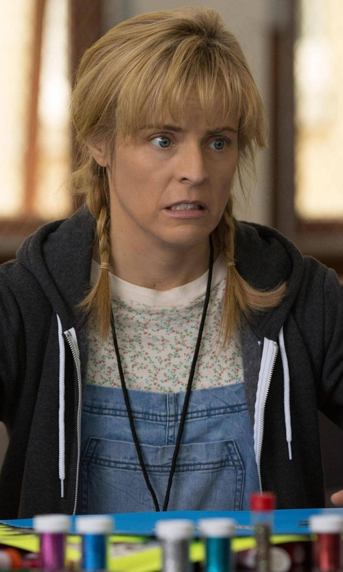 Maria Bamford with JM Collection Floral Print Textured Tee in Lady Dynamite