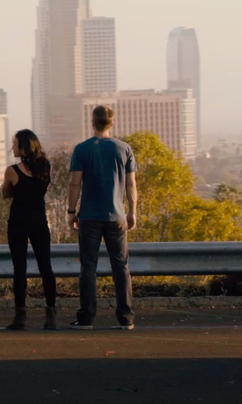 Paul Walker with Nudie Jeans Co Denim Pants in Furious 7