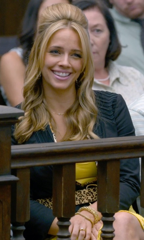 Jessica Barth with Eileen Fisher Shaped Cardigan in Ted 2