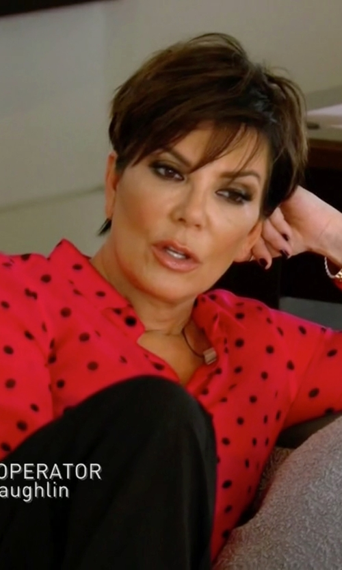 Kris Jenner with Movado 'Bellina' Bracelet Watch in Keeping Up With The Kardashians