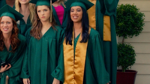 Chrissie Fit with Josten's Graduation Gown in Pitch Perfect 2