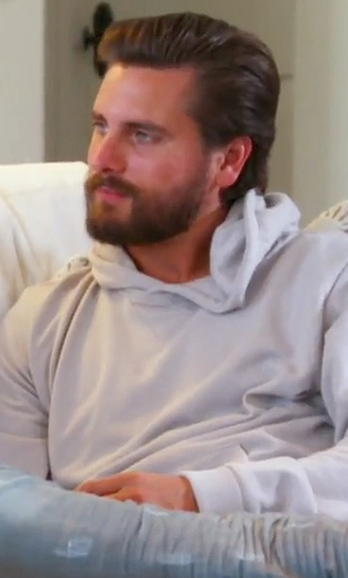 Scott Disick with KNYEW Side Panel Hoodie in Keeping Up With The Kardashians