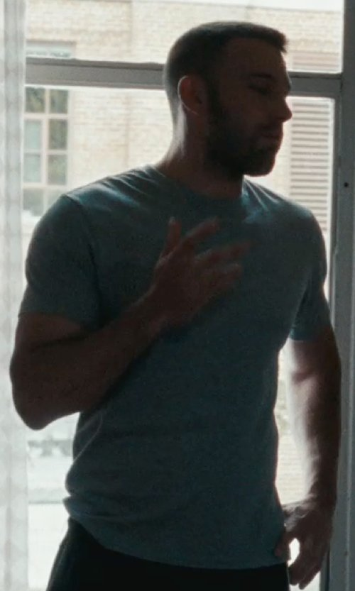 Ben Affleck with T By Alexander Wang Classic T-Shirt in The Town