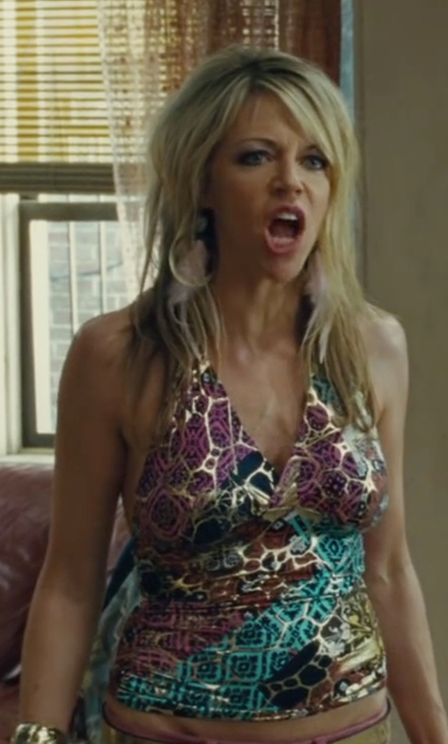 Kaitlin Olson with Profile By Gottex Printed Tankini Top in The Heat