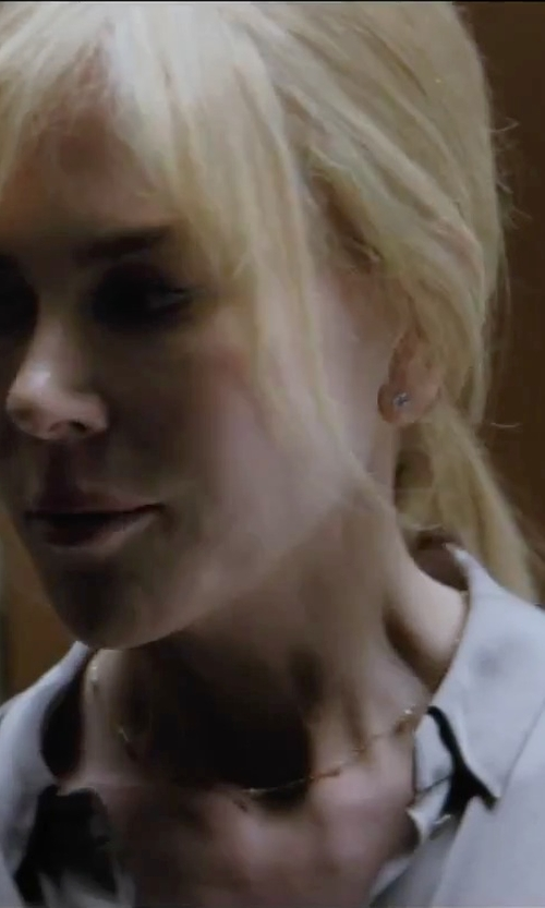 Nicole Kidman with Roberto Coin Diamond And Yellow Gold Station Necklace in Secret in Their Eyes