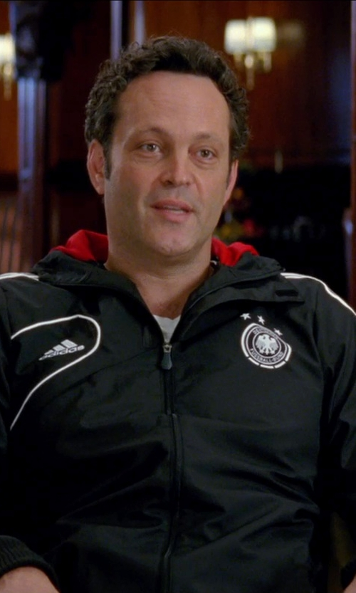 Vince Vaughn with Adidas Germany Training Rain Jacket in Unfinished Business