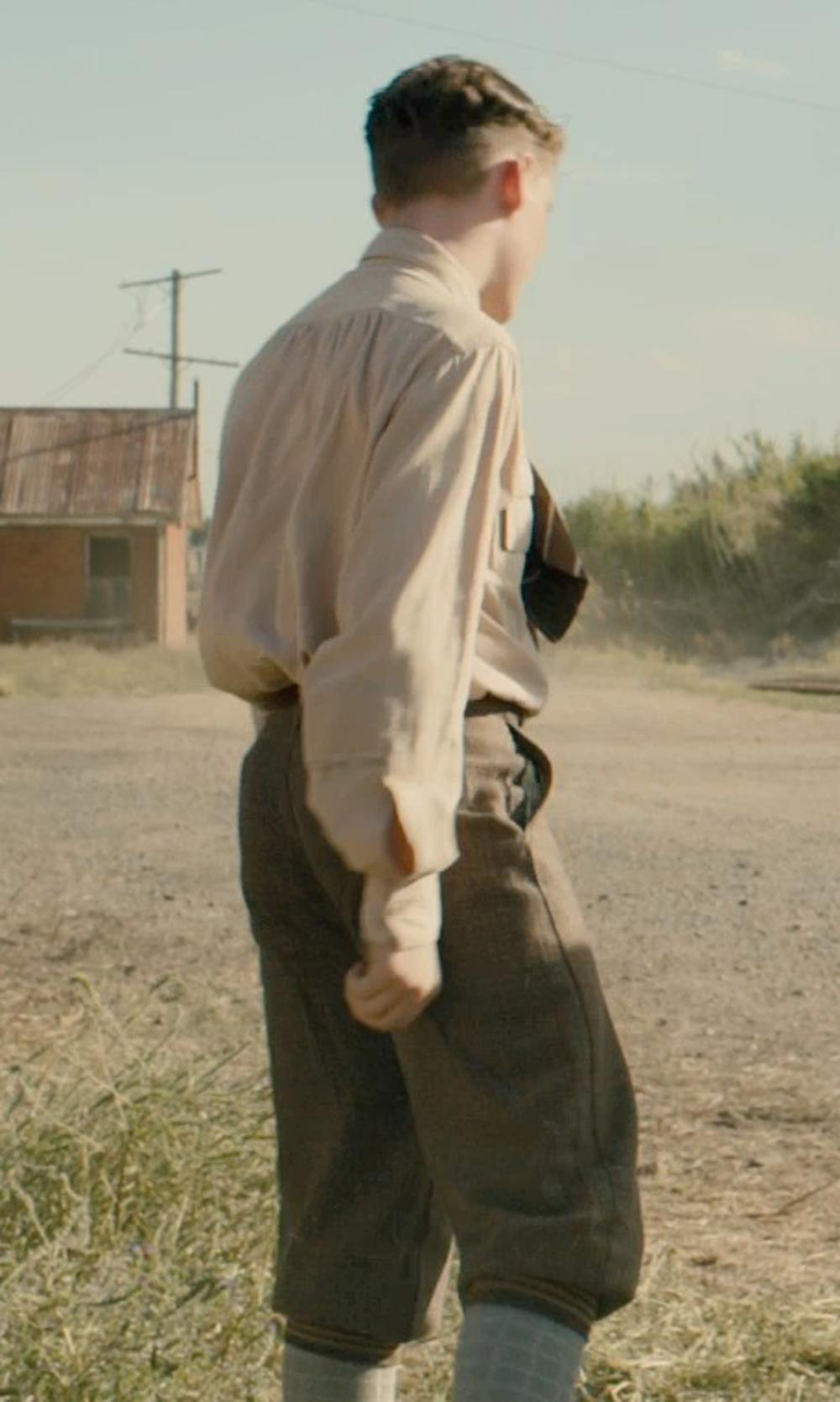 Unknown Actor with Dickies Big Boys' Pleated Front Pant in Unbroken