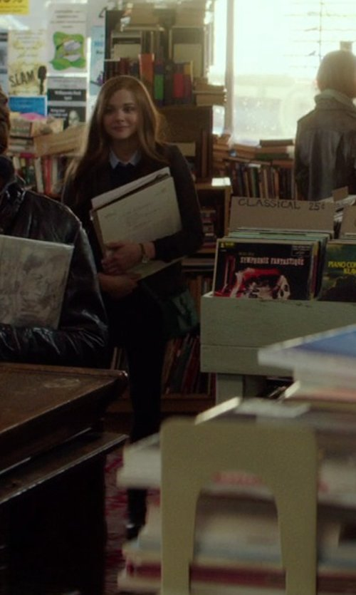 Chloë Grace Moretz with Kut from the Kloth Stevie Straight-Leg Jeans in If I Stay