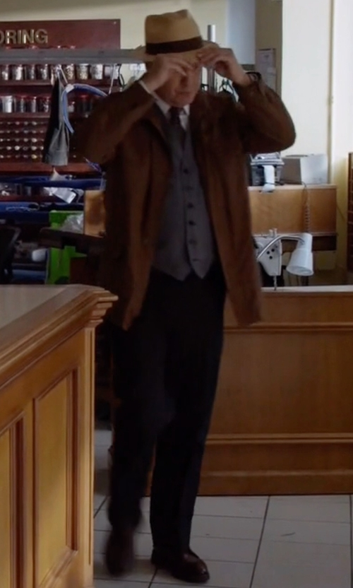 James Spader with H by Hudson Sergio Oxford Shoes in The Blacklist