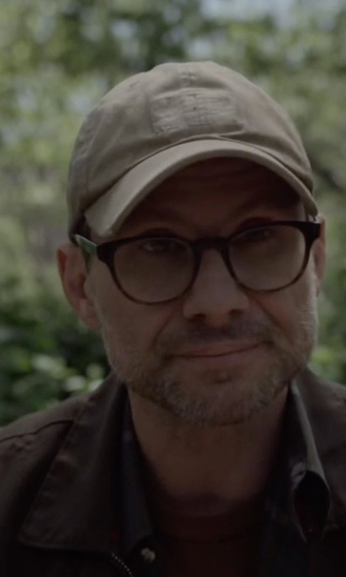 Christian Slater with Tommy Hilfiger Performance Bomber Jacket in Mr. Robot