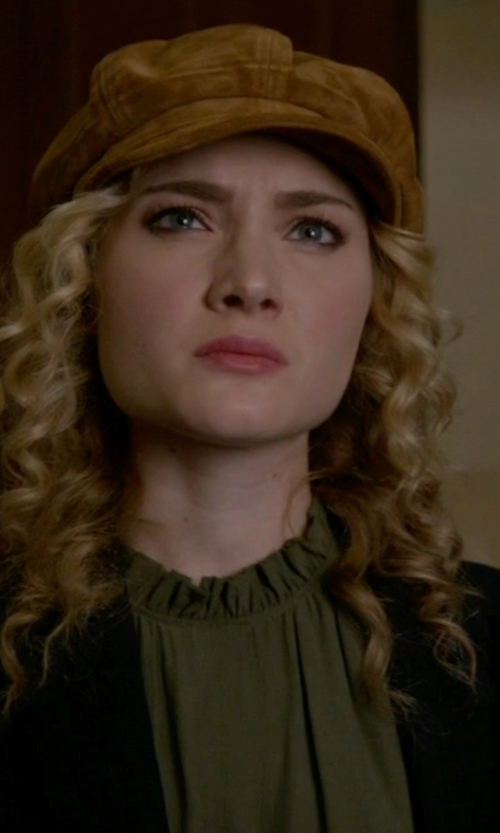 Skyler Samuels with J.Crew Rhodes Blazer In Italian Wool in Scream Queens