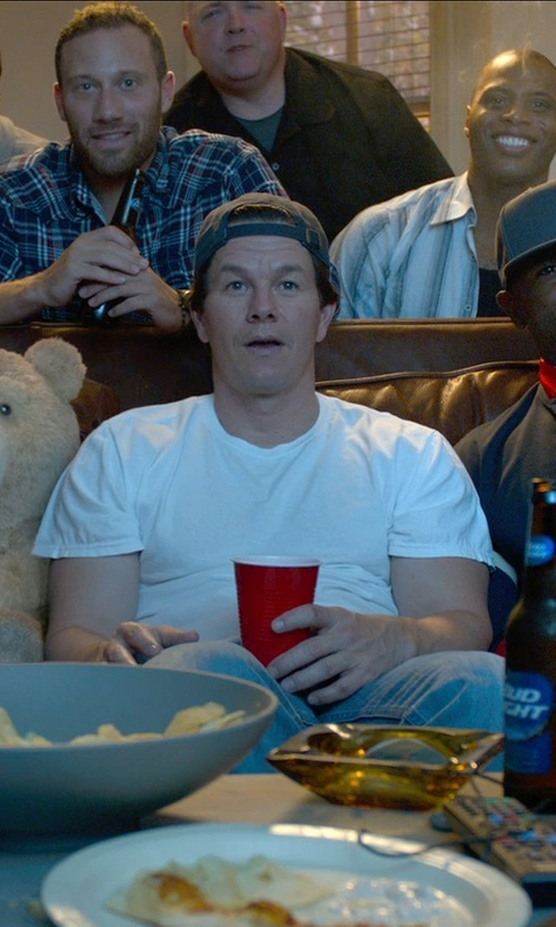 Mark Wahlberg with Ebbets Field Flannels Wool-Broadcloth Baseball Cap in Ted 2
