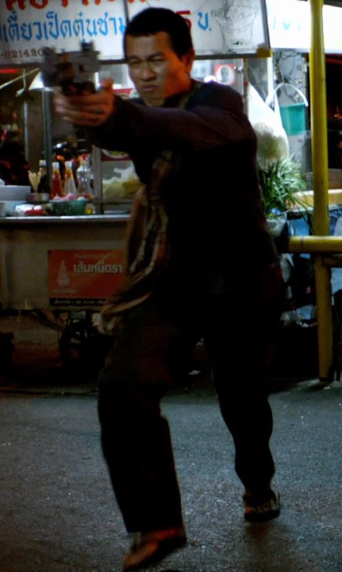 Unknown Actor with Jaggy Casual Pants in Only God Forgives