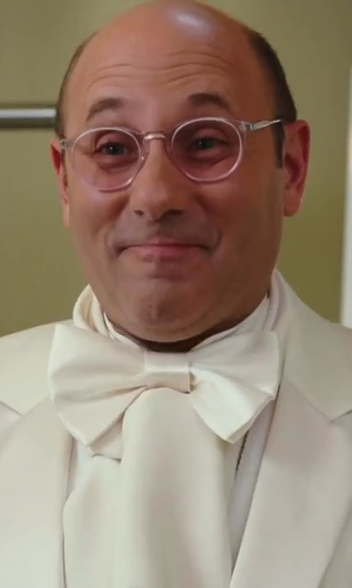 Willie Garson with John Varvatos Round Reading Glasses in Sex and the City 2