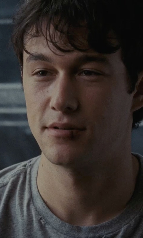 Joseph Gordon-Levitt with Dolce & Gabbana Underwear Crewneck Undershirt in (500) Days of Summer