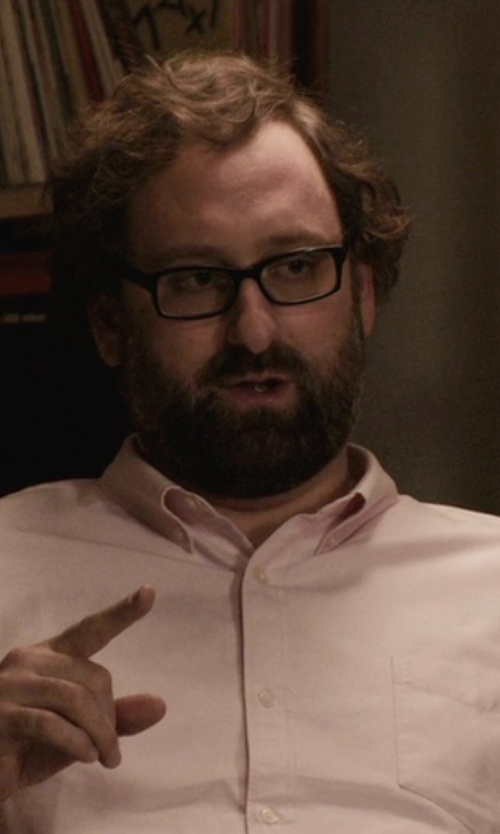 Eric Wareheim with Alexander Olch Oxford Cloth Shirt in Master of None