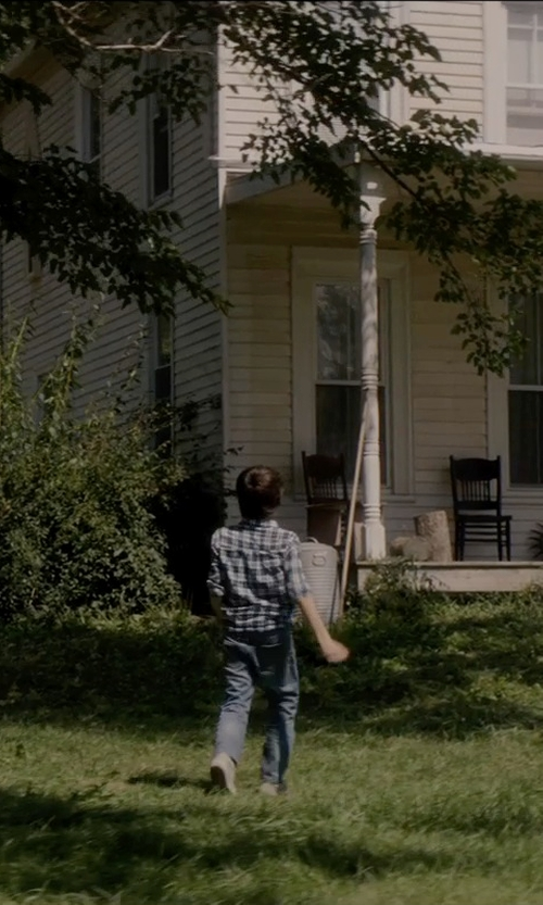 Robert Daniel Sloan with Tommy Hilfiger Kids Paxton Plaid Shirt in Sinister 2
