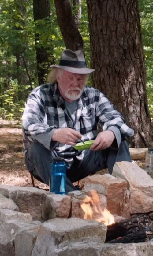 Nick Nolte with Nalgene Tritan Wide Mouth BPA-Free Water Bottle in A Walk in the Woods