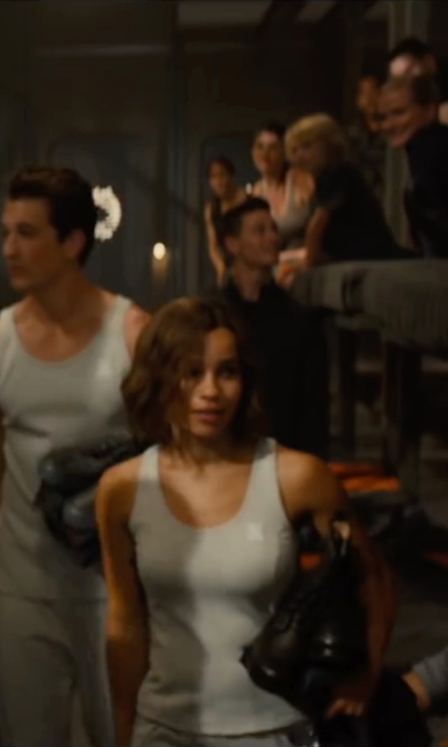 Zoë Kravitz with Marlene Stewart (Costume Designer) Custom Made Tank Top (Christina) in The Divergent Series: Allegiant
