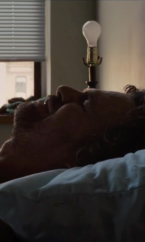 Mark Ruffalo with Clara Clark Bamboo Shredded Memory Foam Pillow in Begin Again