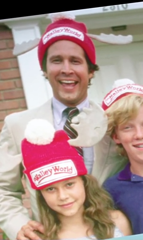 Chevy Chase with Morris Costumes National Lampoon's Vacation  Wally World Hat in Vacation