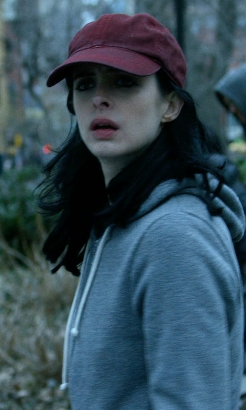 Krysten Ritter with Keds Wool Baseball Cap in Jessica Jones