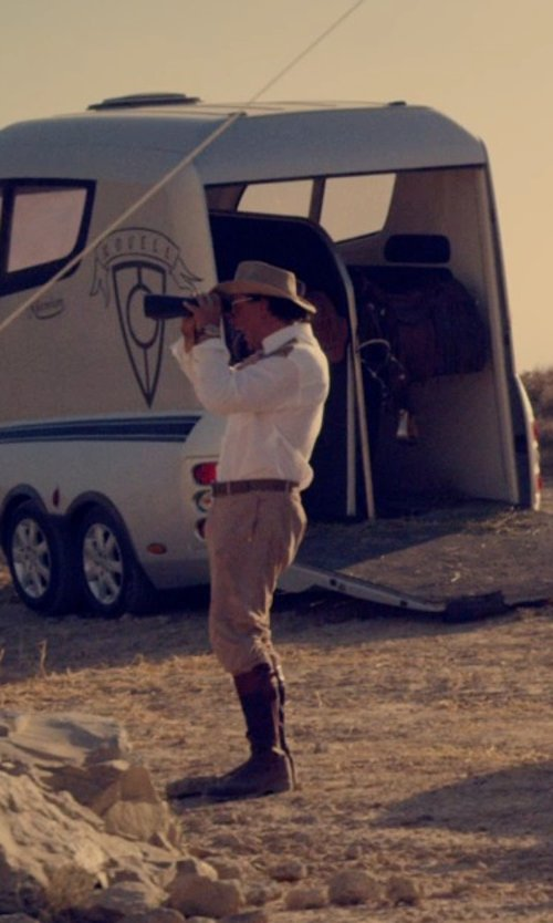 Javier Bardem with Panador Hats Montecristi of Cuenca Panama Hat in The Counselor