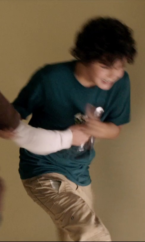 Noah Lomax with Volcom Little Boys' New Circle T-Shirt in 99 Homes