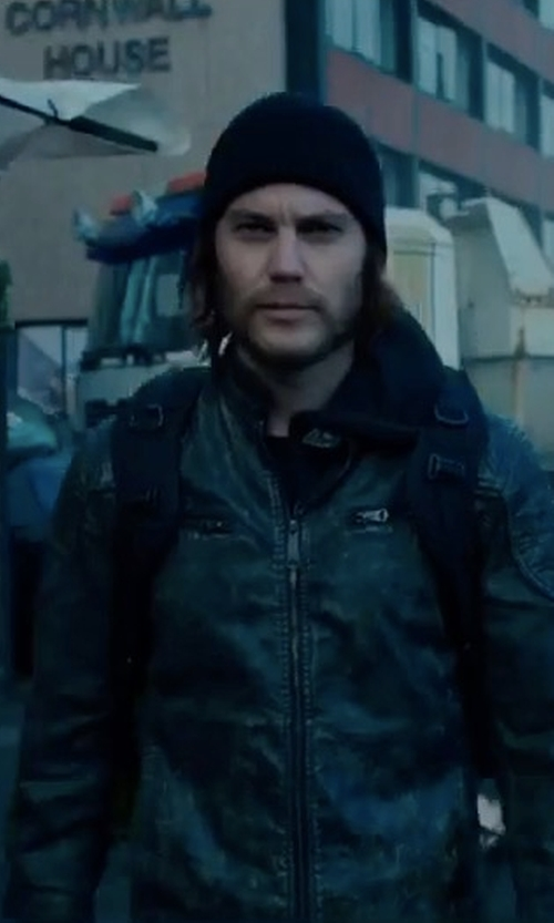 Taylor Kitsch with PX Clothing Roy Jacket in American Assassin