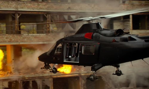 Unknown Actor with Eurocopter AS 565MB Panther in The Expendables 3