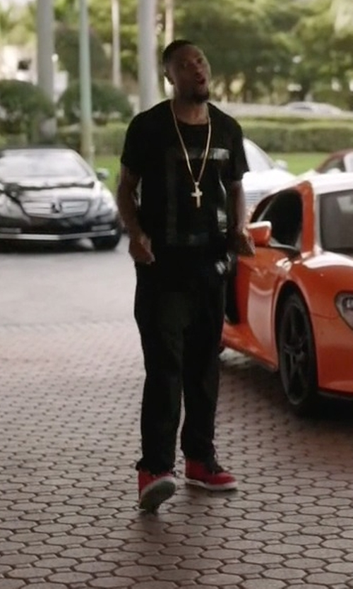 London Brown with Nike Air Tech Challenge Hybrid Shoes in Ballers