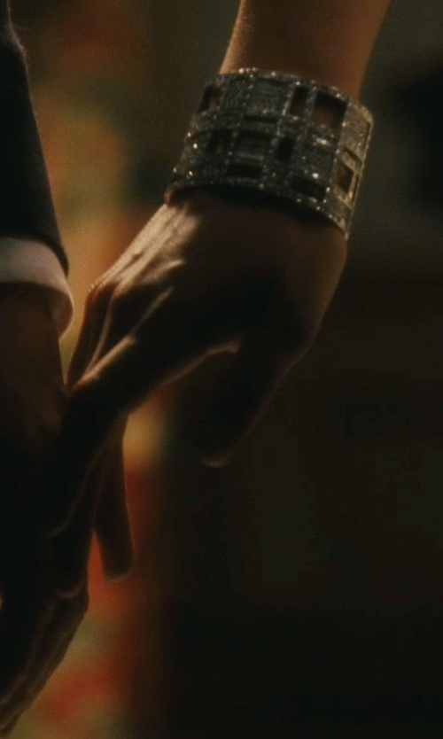 "Keira Knightley with Chanel ""Cosmos""  White Gold And Diamonds Watch in Atonement"