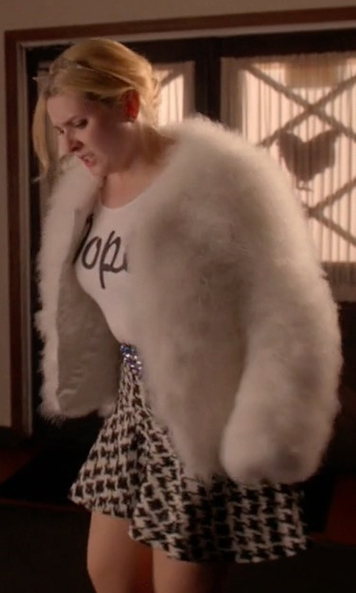 Abigail Breslin with Parker McKenna Skirt in Scream Queens