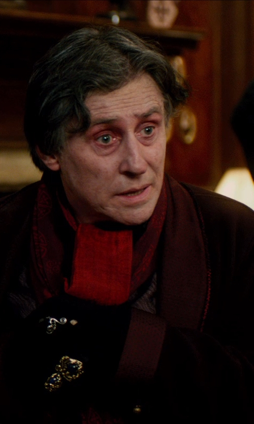 Gabriel Byrne with Burberry CASHMERE SILK SUMMER SNOOD in Vampire Academy