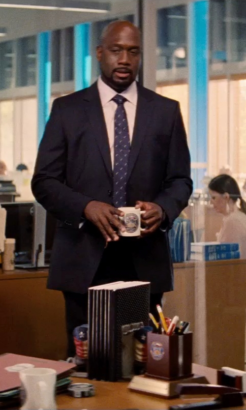 Richard T. Jones with Hickey Freeman Two-Piece Wool Suit in Hot Pursuit