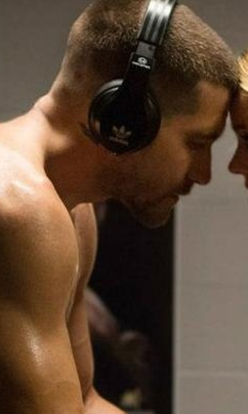 Jake Gyllenhaal with Monster X Adidas Originals Over Ear Headphones in Southpaw