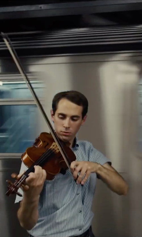 Ian Brodsky with Cecilio Solidwood Ebony Fitted Violin in Begin Again
