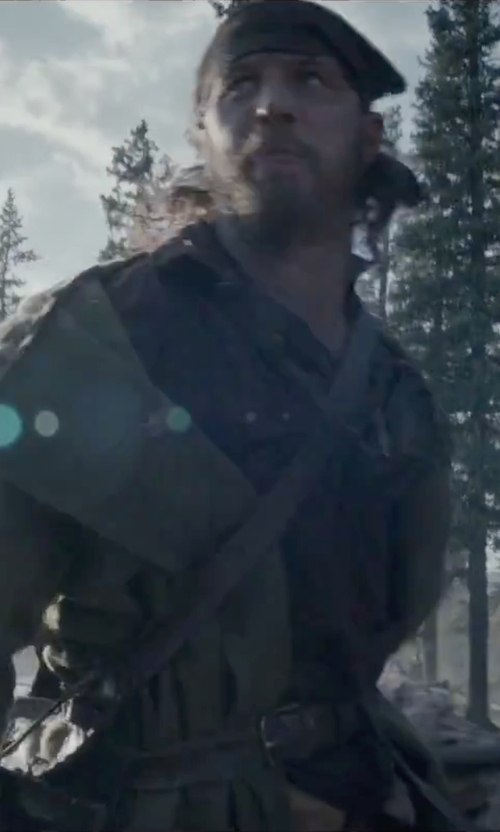 Tom Hardy with H&M Leather Belt in The Revenant